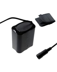 5521 Interface CC 8.4V 6x18650 13200mAh Batterie de phare de vélo pour la lumière de vélo LED