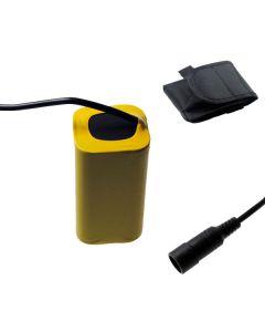 5521 Interface DC 8.4V 4x18650 Batterie de vélo 8800mAh Batterie de vélo pour la lumière avant de vélos LED