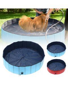 Piscine pour chiens Pliable Dog Piscine Pet Bath Bain Baignoire Baignoire Piscine pour animaux de bain Piscine pliable Piscine pour chiens Chats Enfants