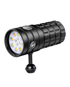 NITEBEAM UV 395-400NM Plongée Lumière blanche / 4x Lumière rouge / 4x Lampe UV lampe à lampe de la lampe à lampe de la lampe à lampe