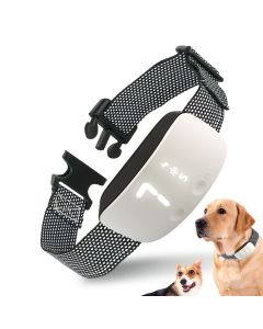 NOUVEAU Touch 7 Niveau Écran Chien Écorce Choc Choc Collier imperméable à l'eau Rechargeable Static Shock Anti No Bark Collar chien de formation