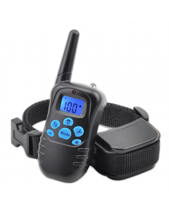 Nouveau 998DRB 300m Remote Electric Dog Collar Shock Vibration Rechargeable Rainproof Dog Training Collar With LCD Display