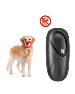 Self Defense Supplies Portable Strong Ultrasonic Dog Chaser Stop Animal Attacks Personal Defense Infrared Dog Drive Dog Training