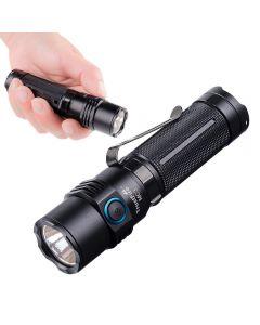 Trustfire MC3 Cree XHP50 2500 Lumens LED lampe de poche USB Chargement magnétique Charging Torch 21700 Lampe à main rechargeable IP68 Etanche EDC Lampe de travail
