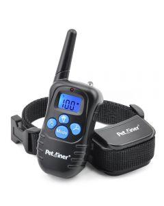 Petrainer 998D 300m à distance Électrique Collier de chien Choc Vibration Rechargeable Collier d'entraînement pour chien imperméable avec écran LCD