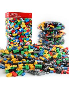 1000 pièces Blocs de construction bricolage Ensembles en vrac Creative Creative Classic Technic Creator Briques Assemblée Brinquedos Jouets éducatifs enfants