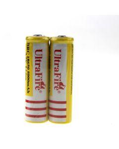 ULTRAFIRE BRC 18650 Batterie rechargeable Li-ion Li-ion (1 paire)
