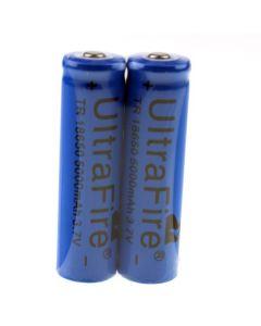 Batterie rechargeable ultrafire tr 5000mah 3,7 V 18650 Li-ion (1 paire)
