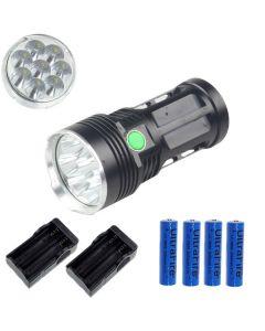Eternalfire King 8T6 8 * CREE XM-L T6 LED Torch 8000 Lumens 3 modes LED lampe de poche à LED