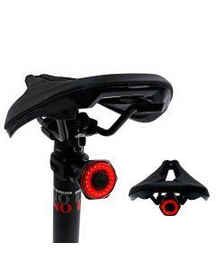 SMART BICYLE TOUTE DE VENTE ARRIÈRE AUTO Démarrer Auto Start Frein IPX6 Imperméable USB Charge USB Cyclisme Vélo TAILLIGHT VTT LED lumières