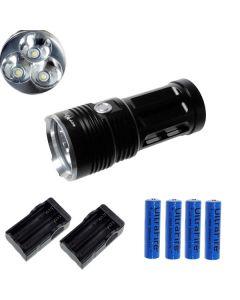 Eternalfire King 3T6 3 * CREE XM-L T6 LED TORCH 3000 LUMENS 3 modes LED lampe de poche