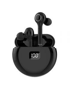 TWS Bluetooth 5.0 Écouteurs 400mAh Boîte de charge Casque sans fil 9D Stehero Sports Écouteurs imperméables Écouteurs à oreilles avec microphone