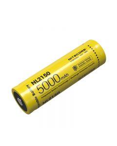 NITECORE NL2150 5000MAH Batterie rechargeable 3,6 V 18Wh 21700 Li-ion