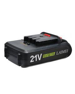 Pile de batterie LIHIUM 21V Outils d'alimentation de la batterie Li-ion pour perceuse rechargeable pour perceuse électrique sans fil de tournevis