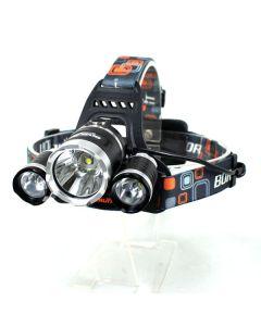 3 t 6 3000 Lumens haute puissance LED Lampe frontale Boruit 3xCREE XM-L T6 4 Mode projecteur éclairage phare seulement