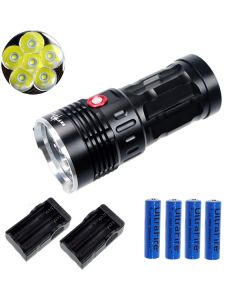 Eternalfire King 6T6 6 * CREE XM-L T6 LED TORCH 6000 Lumens 3 modes LED lampe de poche
