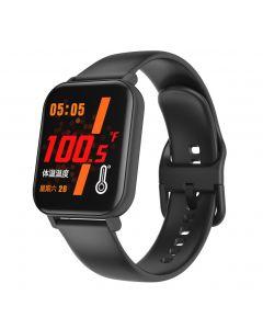 Smart Watch F25 Température Smart Watch Smart Watch Bracelet Soutien à la fréquence cardiaque Sangual Sangly Oxygène