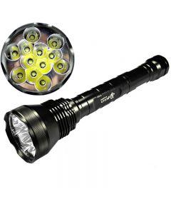 ULTRAFIRE 12T6 CREE XM-L T6 Luminaire haute puissance haute puissance à 5 modes