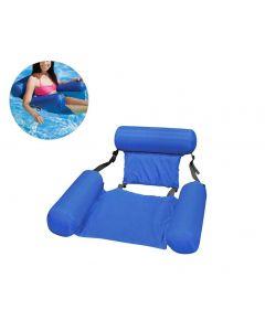 Été gonflable flottant flottant eau hamac gonflable matelas d'air piscine plage flottant coussin couchage chaise