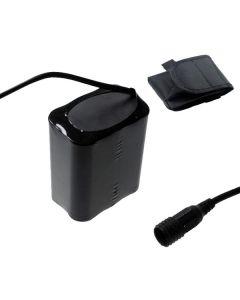 Interface fixe de vis 8.4V 6x18650 13200mAh Batterie de phare de vélo pour la lumière de vélo LED