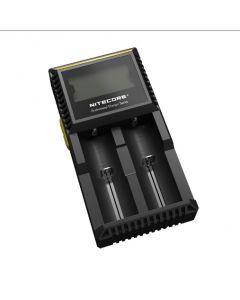 NOUVEL NITECORE D2 DIGCharger Chargeur de batterie LCD Affichage de Nitecore Chargeur pour 26650 18650 18350 16340 14500 10440