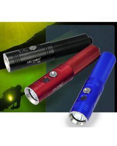 Professionnel Archon V10S Diving Torch / 1 * CREE XM-L U2 LED 860 Lumens 3 modes Lampe de poche de plongée (1 * 18650, pas inclure)