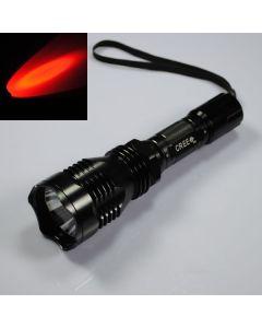 Uniquefire HS-802 Cree Red Light Light Long Lampe de poche LED